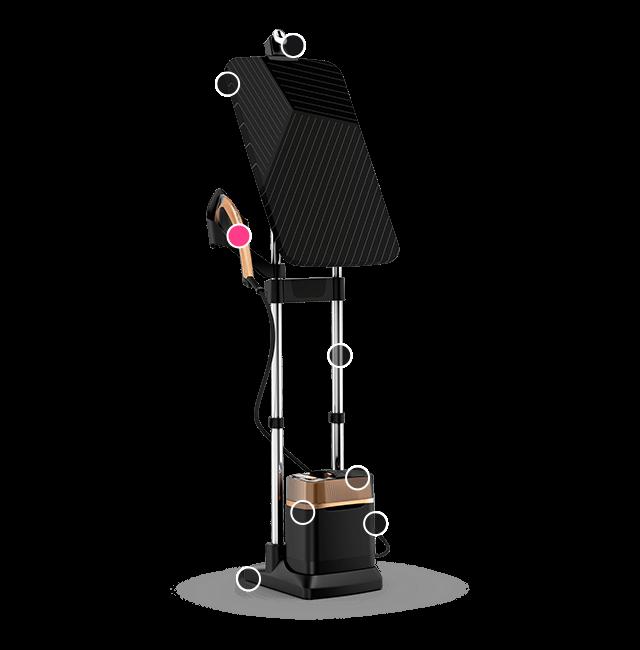Ultra light steam head: